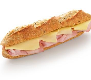 Sandwich jambon - fromage