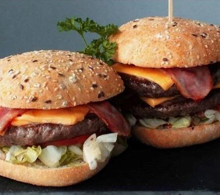 Méga bacon maison double