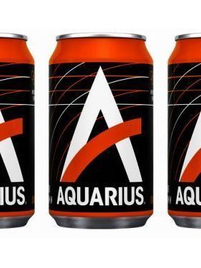 Aquarius red 33 cl